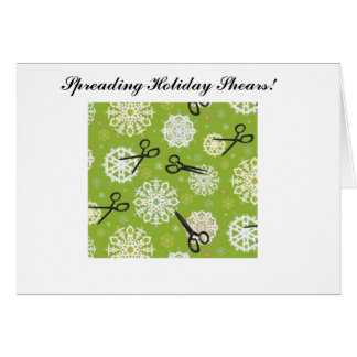 Stylist Client Holiday Cards