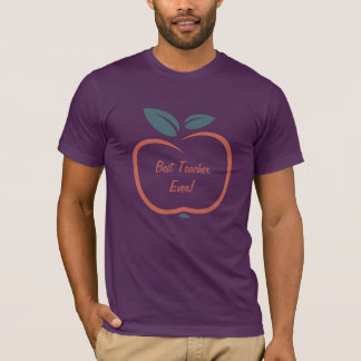 Stylized Apple custom text clothing T-Shirt