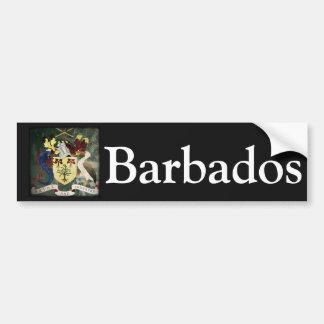Stylized Barbados COA Bumper Sticker