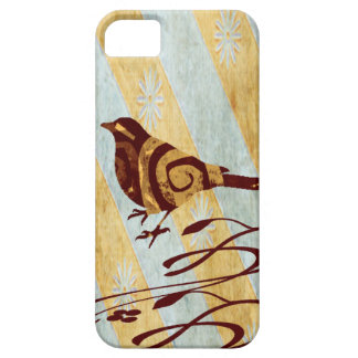 Stylized Bird and Swirls iPhone 5 Covers