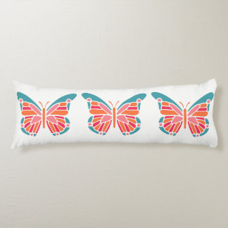 Stylized Butterfly body pillow