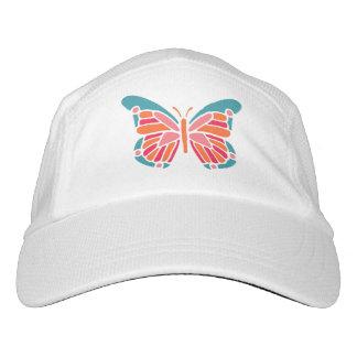 Stylized Butterfly custom name hats