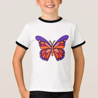 Stylized Butterfly custom name shirts & jackets