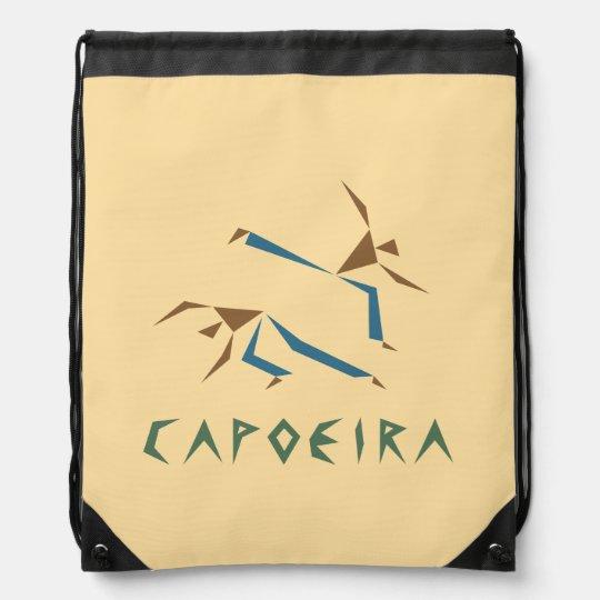 Stylized Capoeira Cinch Bags