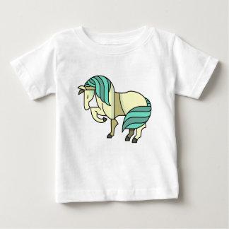 Stylized Cartoon Horse Baby T-Shirt