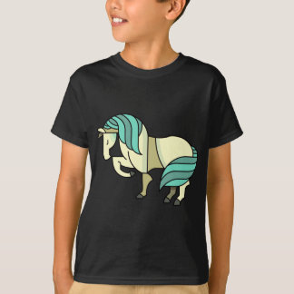 Stylized Cartoon Horse T-Shirt