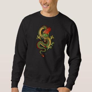 Stylized Dragon 09 Long Sleeve T Sweatshirt