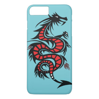 Stylized Dragon iPhone 8 Plus/7 Plus Case
