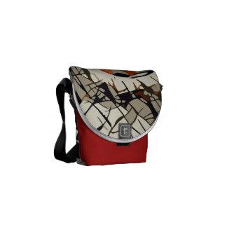 StylizeddrawingofaRedLadybug Commuter Bags