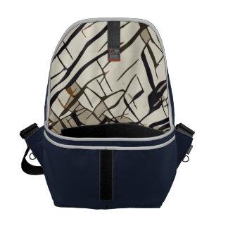 StylizeddrawingofaRedLadybug Courier Bag
