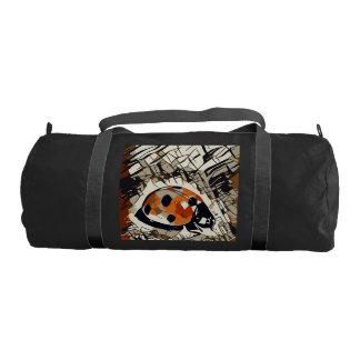 StylizeddrawingofaRedLadybug Gym Bag