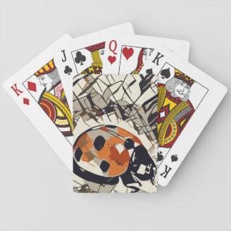 StylizeddrawingofaRedLadybug Playing Cards