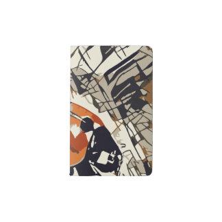 StylizeddrawingofaRedLadybug Pocket Moleskine Notebook