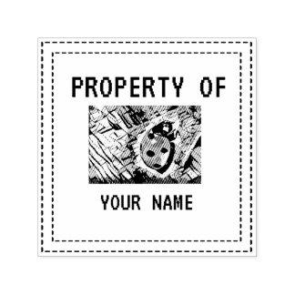 StylizeddrawingofaRedLadybug Self-inking Stamp
