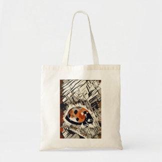StylizeddrawingofaRedLadybug Tote Bag