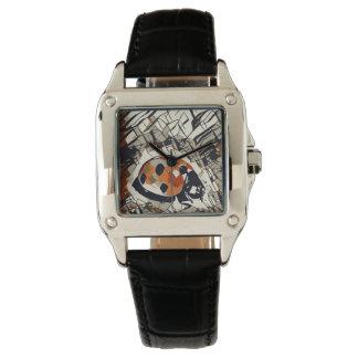 StylizeddrawingofaRedLadybug Watch