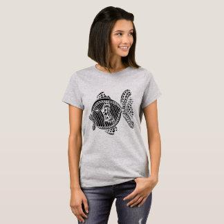 Stylized fish (k) T-Shirt
