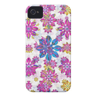 Stylized Floral Ornate Pattern iPhone 4 Cover