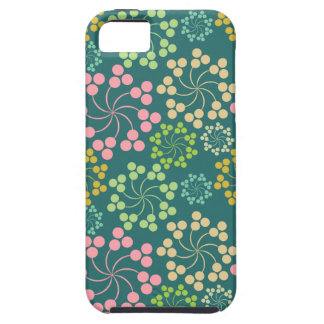 Stylized Flower Pattern Case For The iPhone 5