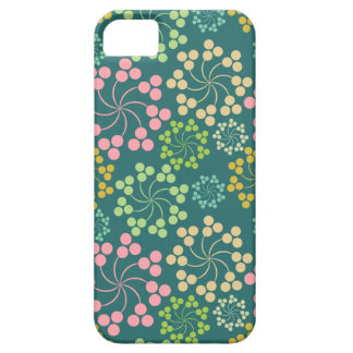 Stylized Flower Pattern iPhone 5 Cover