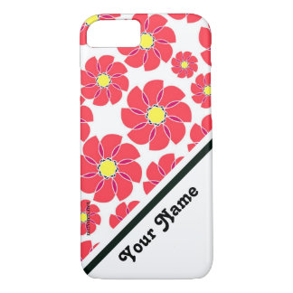 Stylized Flowers iPhone 8/7 Case