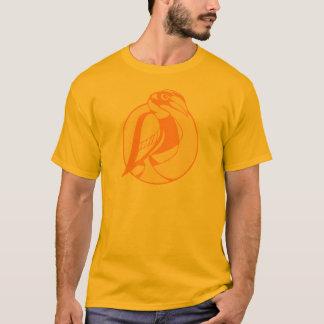 Stylized Hornbill T-Shirt