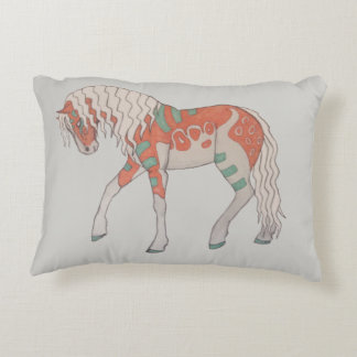 Stylized Horse Pillow