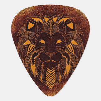 Stylized Lion Head Guitar Pick