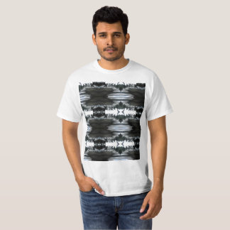 stylized palm branch with back pix T-Shirt
