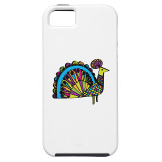 Stylized Peacock iPhone 5/5S Case