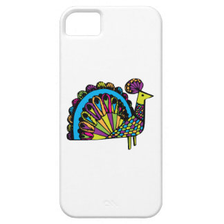 Stylized Peacock iPhone 5 Cover
