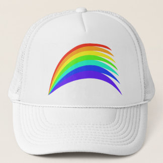 Stylized Rainbow Arch Trucker Hat