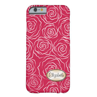 Stylized Rose Garden Pattern | iPhone 6 case