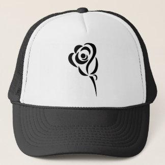 Stylized Rose Trucker Hat