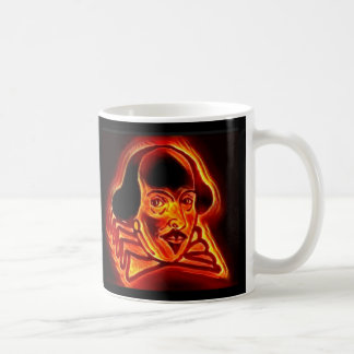 Stylized Shakespeare Portrait mug