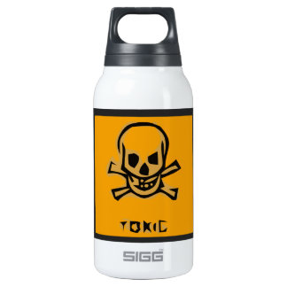 Stylized Skull Insulated Water Bottle