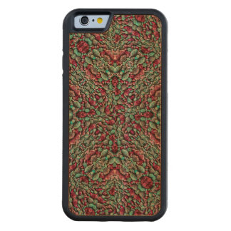 Stylized Texture Luxury Ornate Carved Cherry iPhone 6 Bumper Case