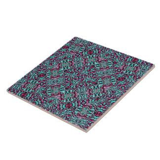 Stylized Texture Luxury Ornate Tile