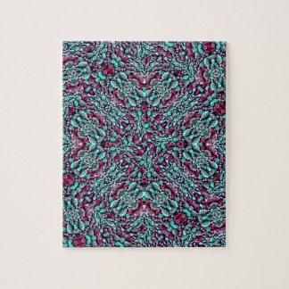 Stylized Texture Pattern Mosaic Jigsaw Puzzle