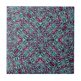 Stylized Texture Pattern Mosaic Tile