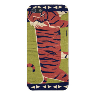 Stylized Tiger Case For iPhone 5/5S