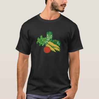 Stylized Vegetable Assortment T-Shirt