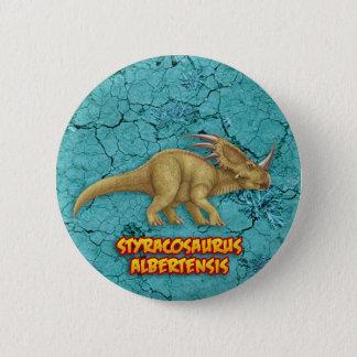 Styracosaurus 2 Inch Round Button