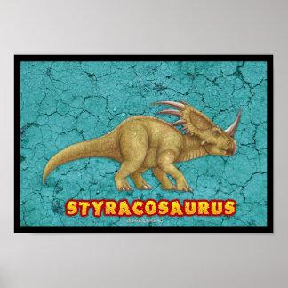 Styracosaurus Deluxe poster