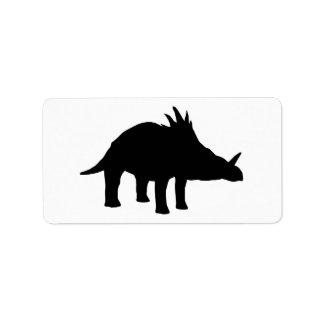 Styracosaurus Dino Dinosaur Address Label