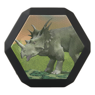 Styracosaurus dinosaur - 3D render Black Bluetooth Speaker