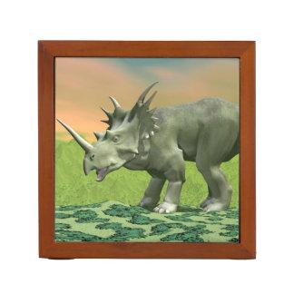Styracosaurus dinosaur - 3D render Desk Organizer