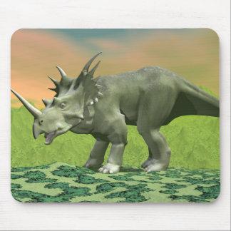 Styracosaurus dinosaur - 3D render Mouse Pad