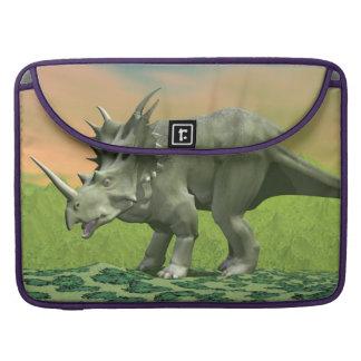 Styracosaurus dinosaur - 3D render Sleeve For MacBook Pro