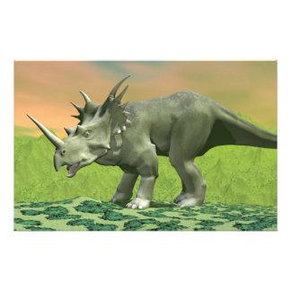 Styracosaurus dinosaur - 3D render Stationery